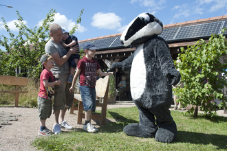 Family badger event