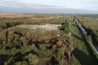 Aerial shot of Furbers site