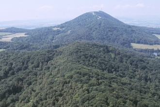 Aerial view of The Wrekin