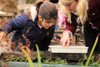 Pond dipping at Wildlings