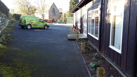 DePave: Church Aston rain garden