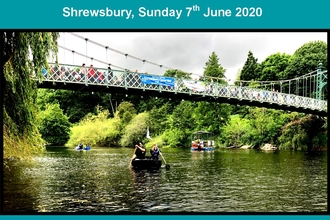 2020 Magnificent Severn River Festival, Shrewsbury poster